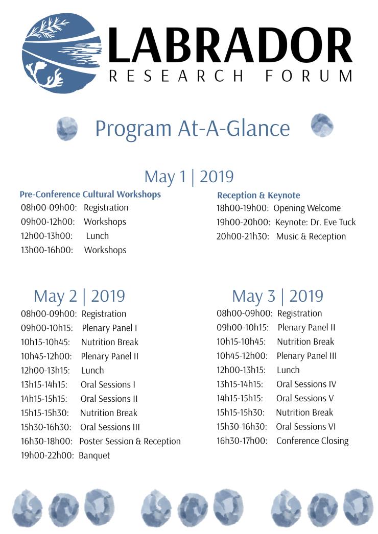 Program At-A-Glance Nov62018
